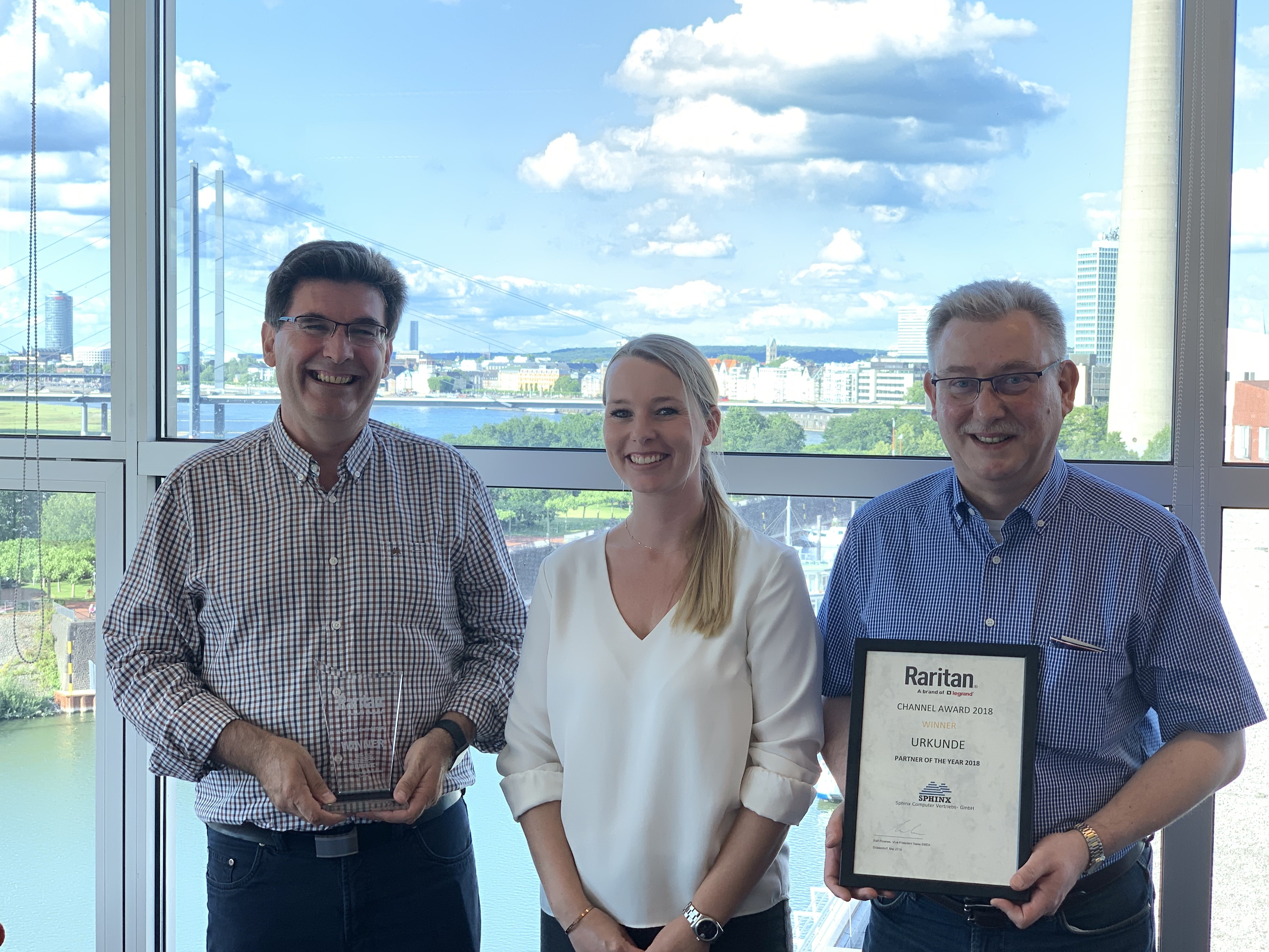 Partner of the Year 2018 - SPHINX Computer Vertriebs-GmbH